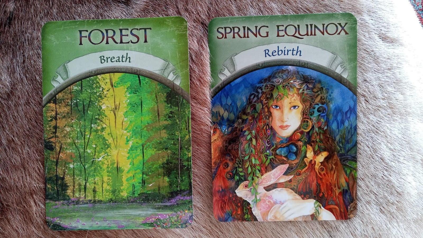 Oracle Cards for Samhain