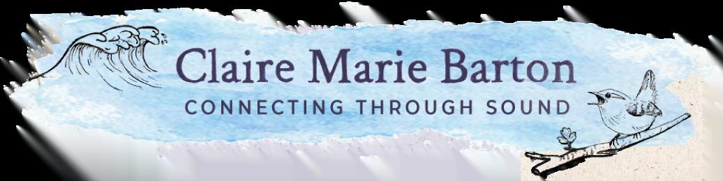 Claire Marie Barton sound healer in west cork.